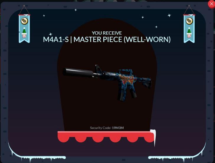 M4A1-S | MASTER PIECE